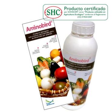 AMINOBIRD 1L Aminóacidos inducidos por Pseudomonas fluorescens
