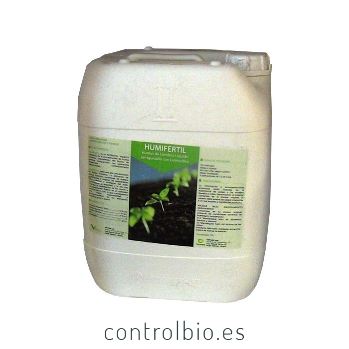 HUMIFÉRTIL 20 L humus líquido de lombriz enriquecido