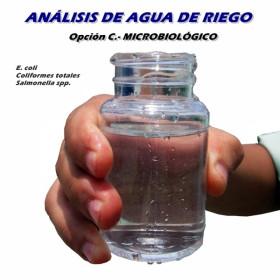 Análisis de agua MICROBIOLÓGICO