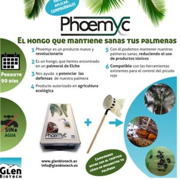 PHOEMYC 1000 contra picudo rojo beauveria bassiana