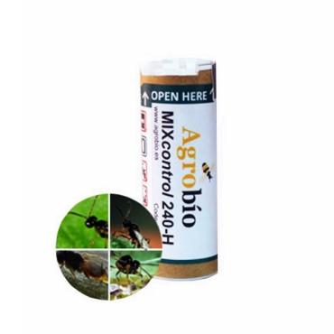 MIX 240-O ORNAPROTECT mezcla de parasitoides contra pulgón en cultivo de ornamamentales