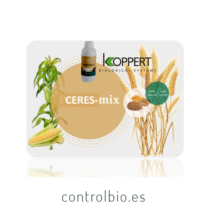 PANORAMIX 1 L de Koppert bioprotector de semillas para cereales