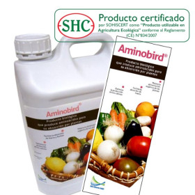 AMINOBIRD 5 L Aminóacidos inducidos por Pseudomonas fluorescens