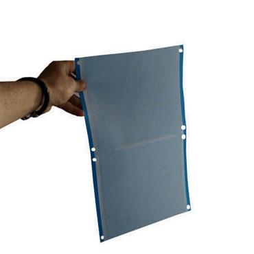 PLACA AZUL 40 x 25 cm individual (paquete de 50 Ud)