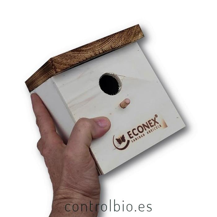 CAJA NIDO modelo COMPACT insectívoras