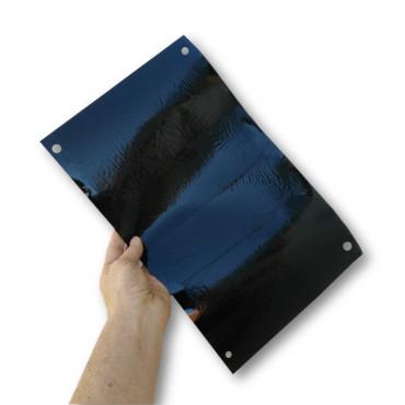 Trampa cromática adhesiva IMAN negra 25 x 40 cm