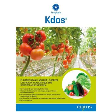 KDOS fungicida horticolas