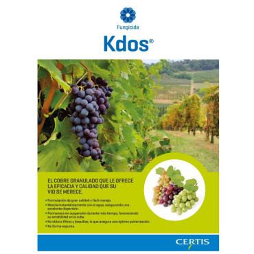 KDOS fungicida viñedo