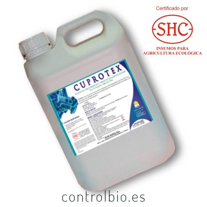 Cu CUPROTEX solución de cobre complejado