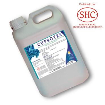 Cu BioCUPROTEX 5L corrector de carencias de cobre