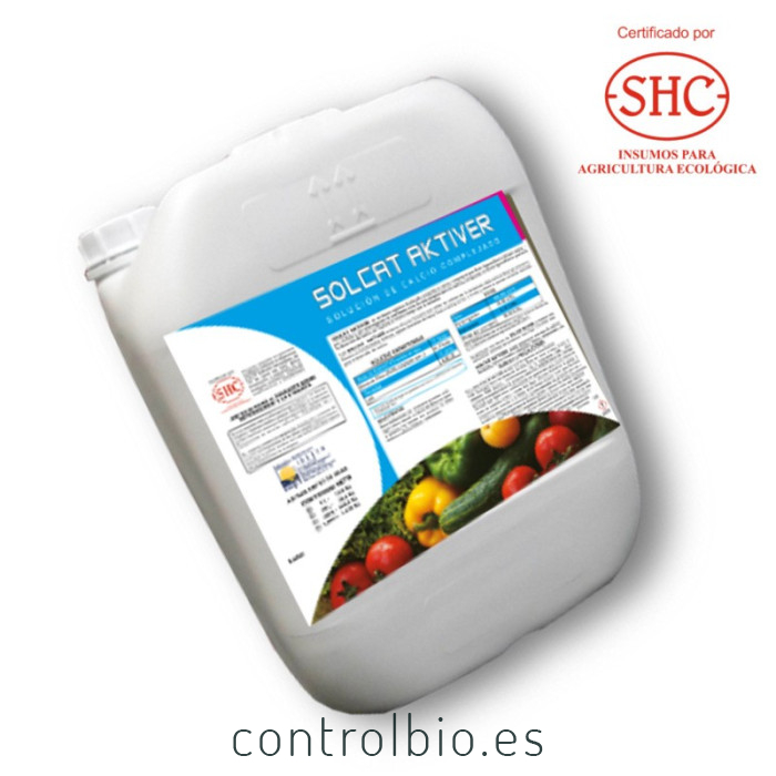 Ca BioSOLCAT AKTIVER Solución de calcio complejado