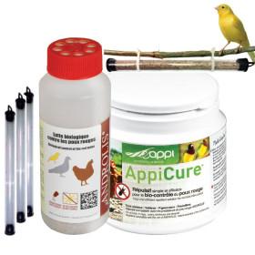 COMBO APPICURE M control de ácaro rojo hasta 10 gallinas