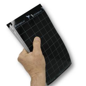 PLACA NEGRA 15 x 30 cm individual (paquete de 50 Ud)