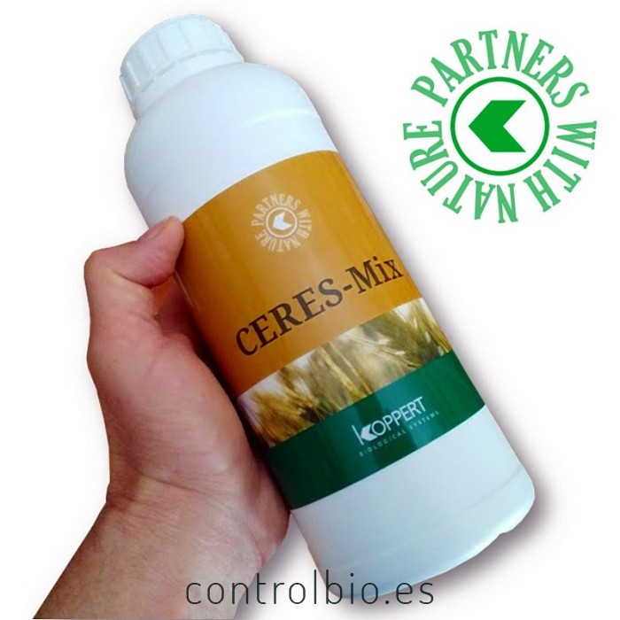 CERES-MIX WHEAT 1 L de Koppert bioprotector de semillas para cereales