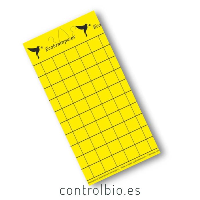 Trampa cromatica amarilla 15x30