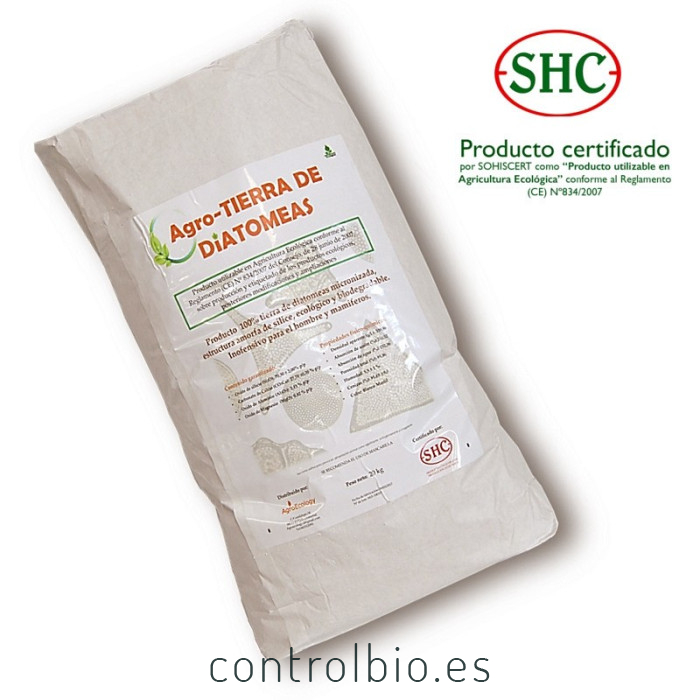 AGRO TIERRA DE DIATOMEAS 20 Kg