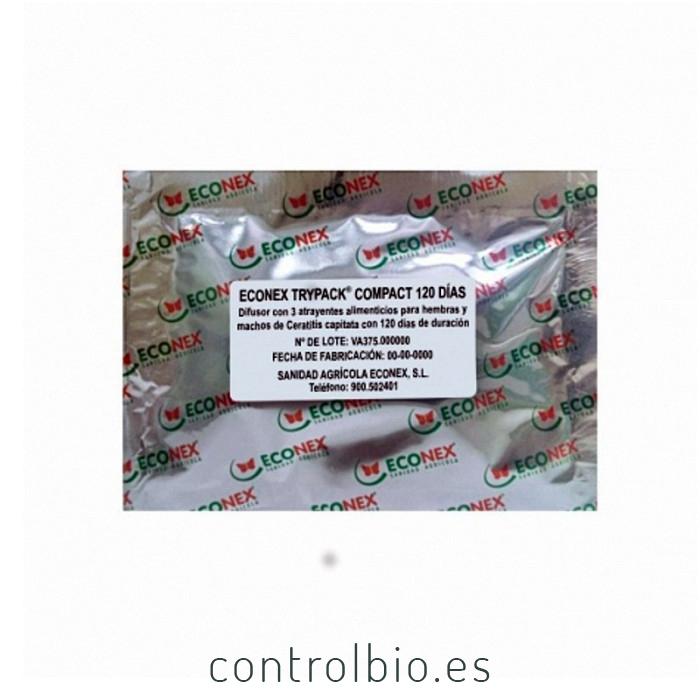 CERATITIS CAPITATA Trippack 4 (3 atrayentes +DDVP) 120 días
