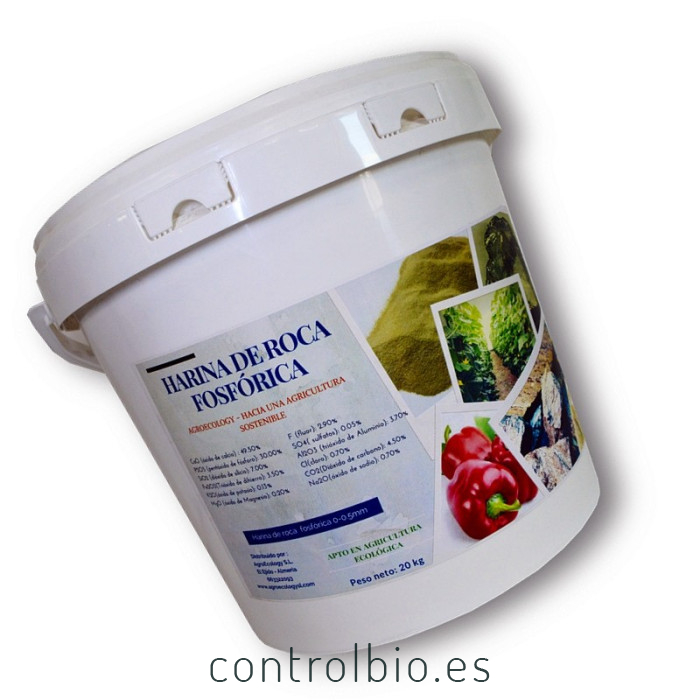 HARINA DE ROCA FOSFÓRICA 20 kG