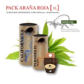 PACK ARAÑA ROJA 35.000 [XL] Californicus 25.000 + Phytoseiulus 10.000