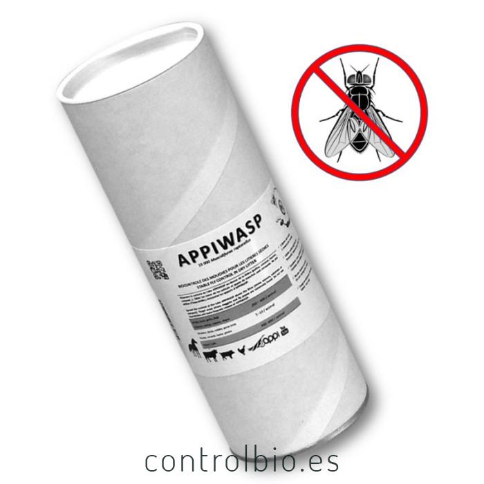 BIOPAR 15.000 Muscidifurax sp enemigo natural de la mosca