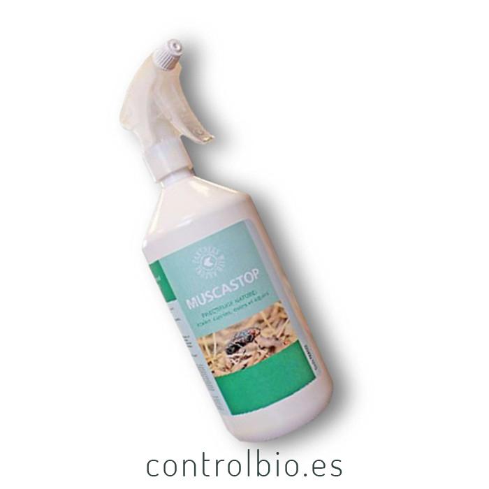 MUSCASTOP spray repelente ecológico de moscas y garrapatas
