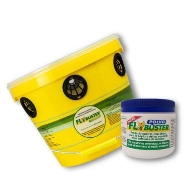 FLYBUSTER (TRAMPA + RECARGA) Trampa ecológica de moscas