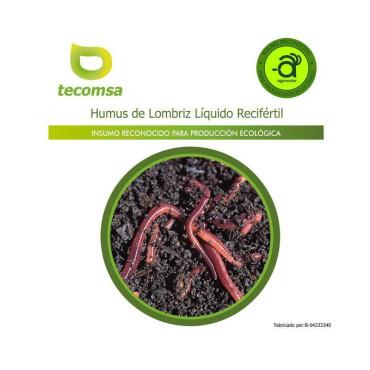 Humus líquido de lombriz 20L RECIFÉRTIL