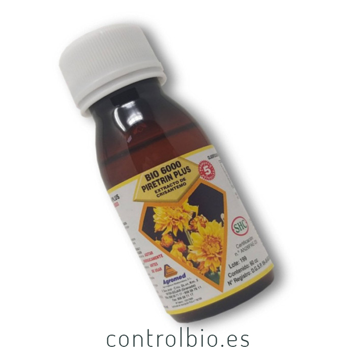 Extracto de CRISANTEMO piretrina natural 60 ml