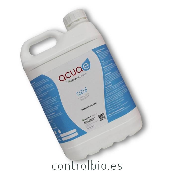 ACUAE AZUL 1L Alguicida ecológico de acción física