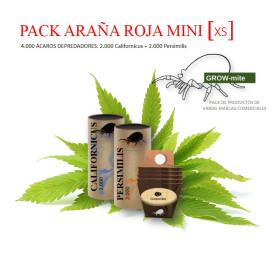 PACK ARAÑA ROJA XS 2000 californicus + 2000 persimilis
