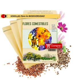 FLORES COMESTIBLES semillas x 5 g