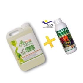 Herbicida ecológico + Mojante