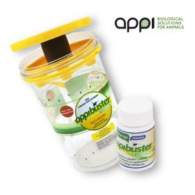 APPIBUSTER JARDÍN (TRAMPA + RECARGA) Trampa ecológica de moscas