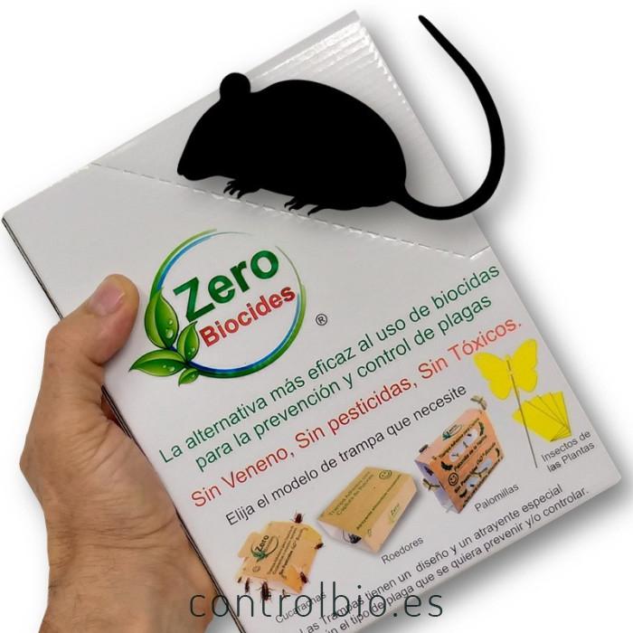 Ratón pack de 2 trampas ´+ 1 de regalo