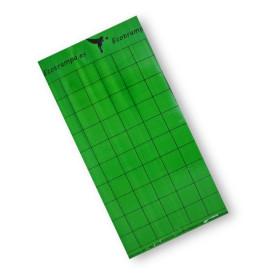 PLACA VERDE 15 x 30 cm individual