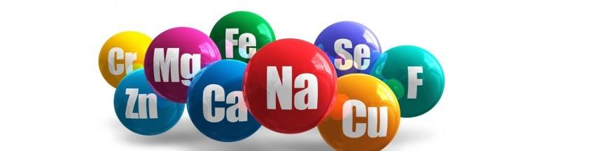 Microelementos B, Co, Cu, Fe, Mn, Mo, Zn