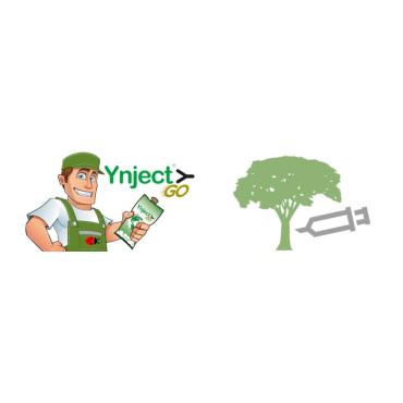 Ynject cargado con fitosanitario