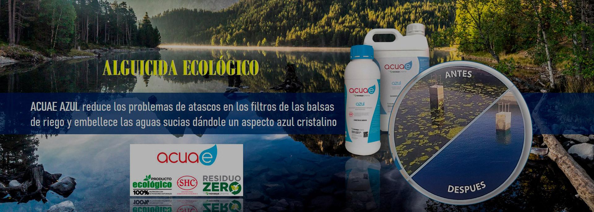 Acuae azul alguicida ecologico